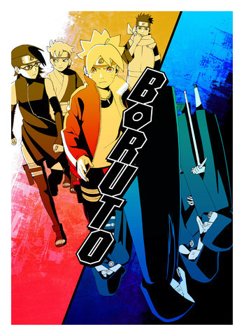 Tv Animation Boruto Naruto Next Generations Will Be Released In 4th Year With New Key Visuals Japanese Entertainment Anime News